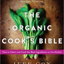 """""""The Organic Cook's Bible"""" book cover"""