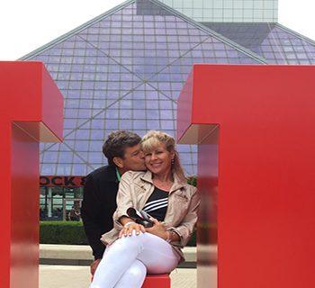 Trina and Douglas at Great Lakes